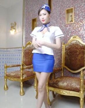 女神「艾比」的空姐限定特殊服��